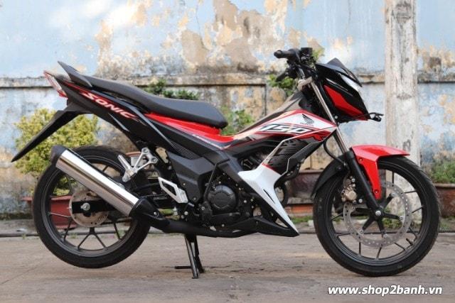 Xe honda sonic 150r đen đỏ nhập khẩu indo 2019 - 1