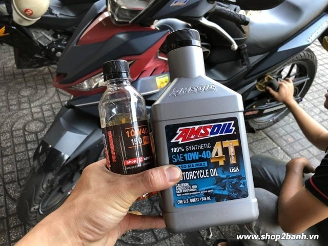 Amsoil 10w40 performance - 4