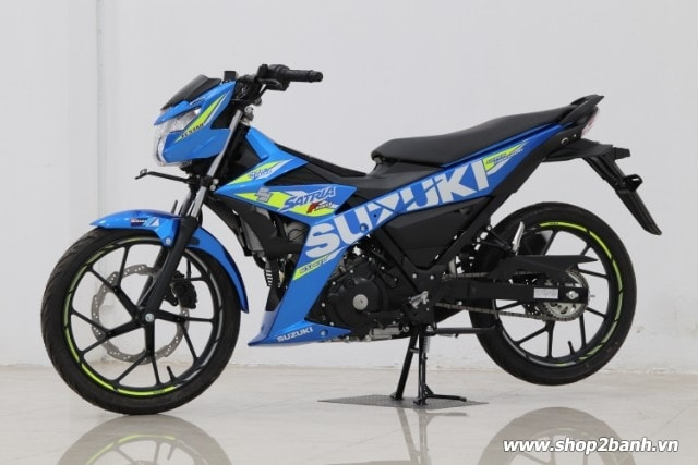 Xe suzuki satria f150 xanh gp nhập khẩu indo 2019 - 2