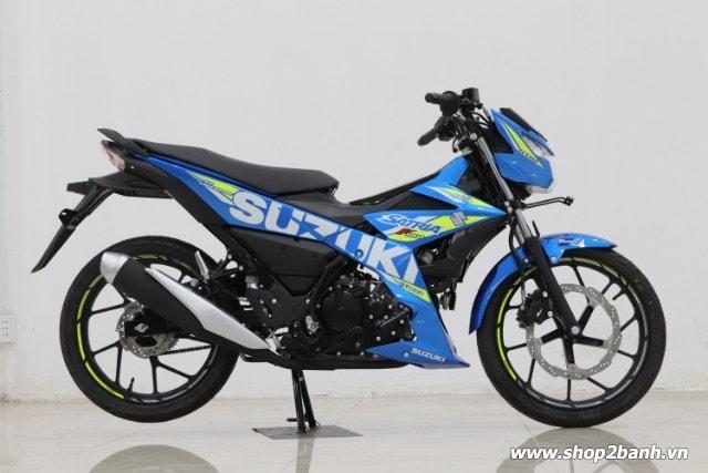 Xe suzuki satria f150 xanh gp nhập khẩu indo 2019 - 1