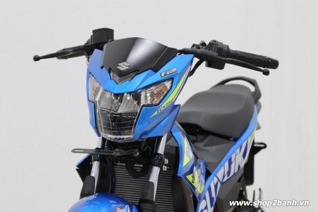 Xe suzuki satria f150 xanh gp nhập khẩu indo 2019 - 4