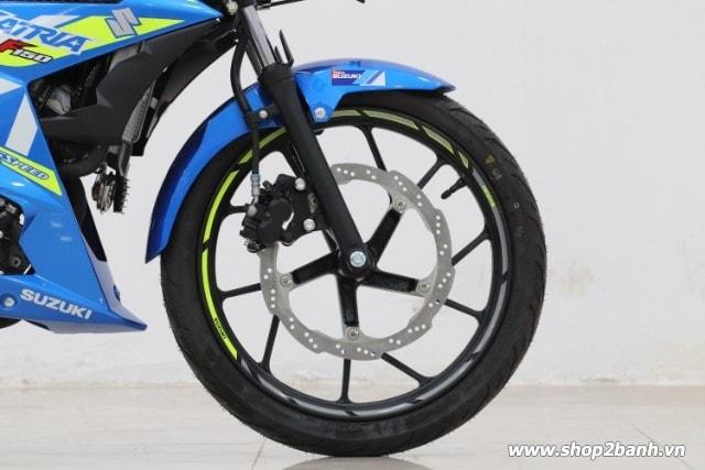 Xe suzuki satria f150 xanh gp nhập khẩu indo 2019 - 6