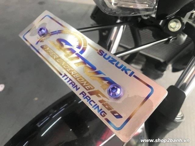 Bảng tên xe titan loại dày cao cấp cho vario click satria sonic - 4