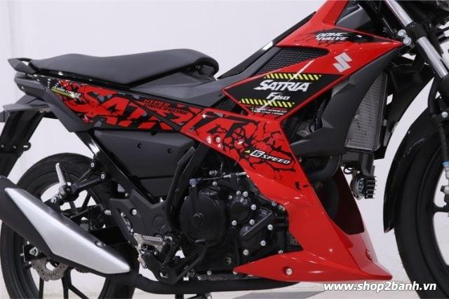 Xe suzuki satria f150 đỏ đen nhập khẩu indo 2019 - 5