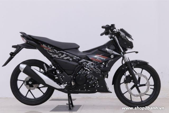 Xe suzuki satria f150 đen bóng nhập khẩu indo 2019 - 1