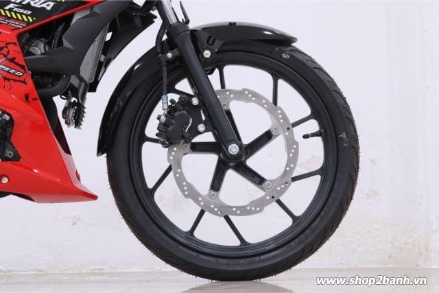 Xe suzuki satria f150 đỏ đen nhập khẩu indo 2019 - 6