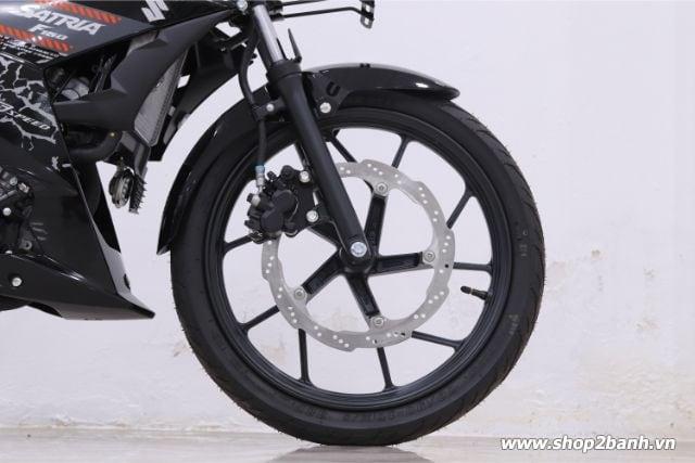 Xe suzuki satria f150 đen bóng nhập khẩu indo 2019 - 6