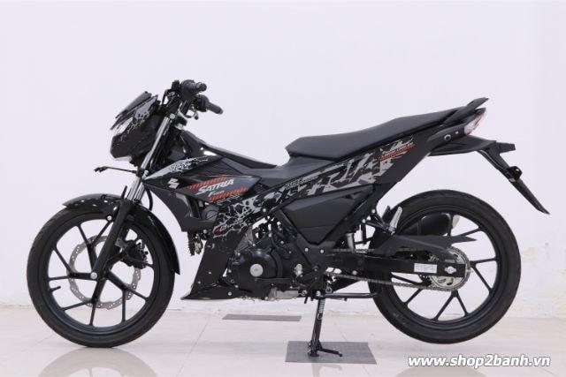 Xe suzuki satria f150 đen bóng nhập khẩu indo 2019 - 2