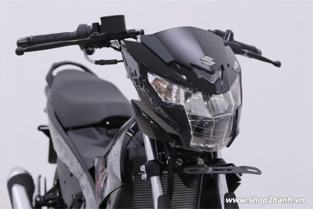 Xe suzuki satria f150 đen bóng nhập khẩu indo 2019 - 4
