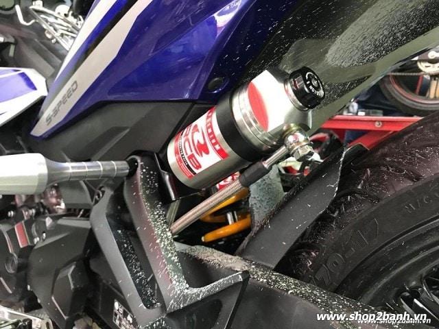 Phuộc rcb db-2 line chính hãng bình dầu 2017 cho exciter 150 - 4