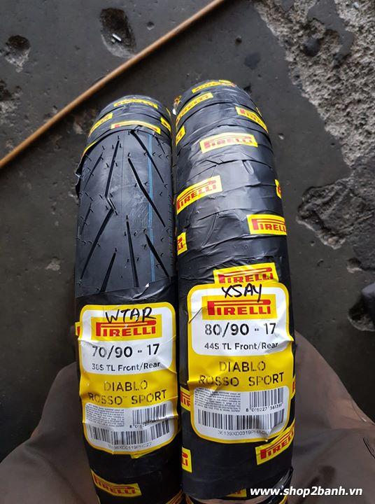 Vỏ pirelli 7090-17 diablo rosso sport - 1