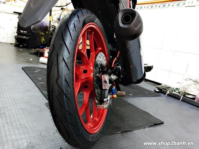 Vỏ pirelli 8090-17 diablo rosso sport - 3
