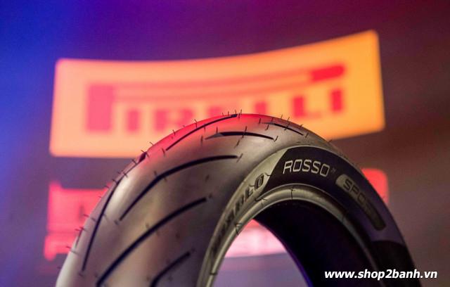 Vỏ pirelli 12070-17 diablo rosso sport - 1