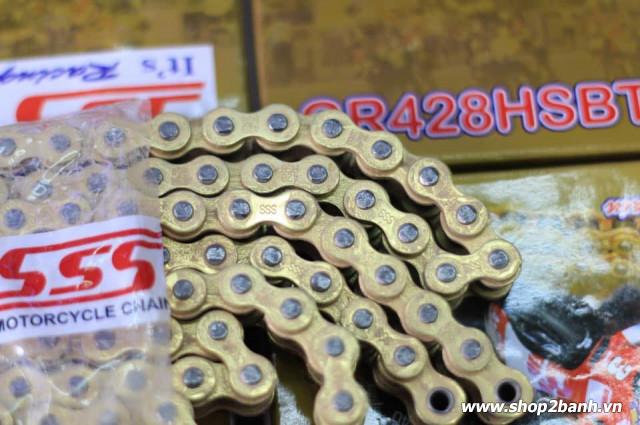 Sên vàng sss 428hs chính hãng 10ly 130l - 1