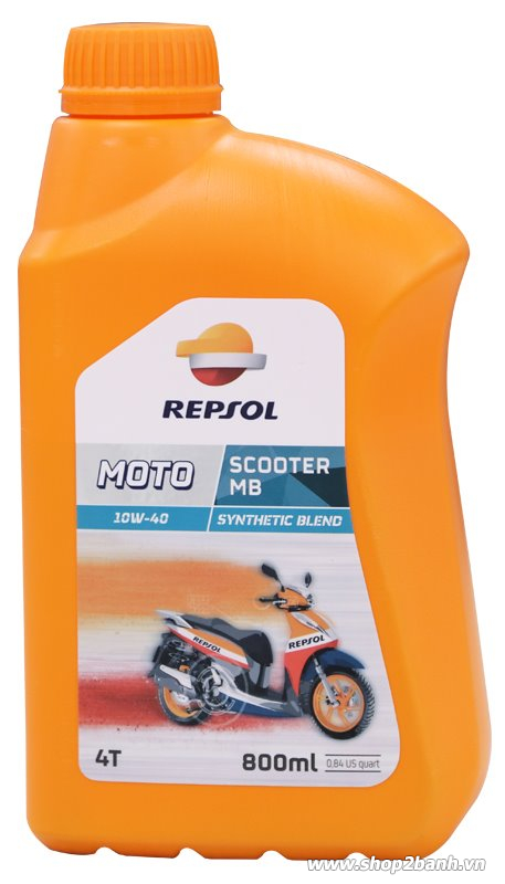 Nhớt repsol moto scooter mb 4t 10w40 - 1