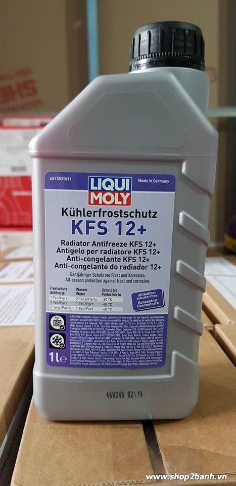 Nước làm mát liqui moly đỏ pha 11 - 1