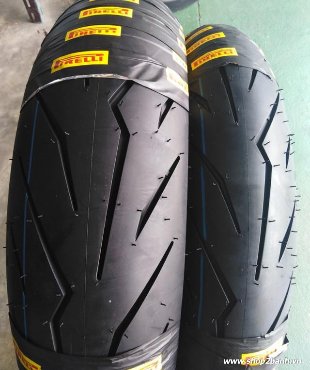 Vỏ pirelli 13070-17 diablo rosso sport - 1