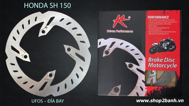 Đĩa thắng k-driven đĩa bay chính hãng cho sh 125150 - 1