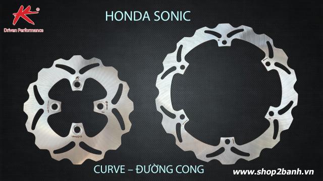 Đĩa thắng trước k-driven đường cong chính hãng cho sonic - 1