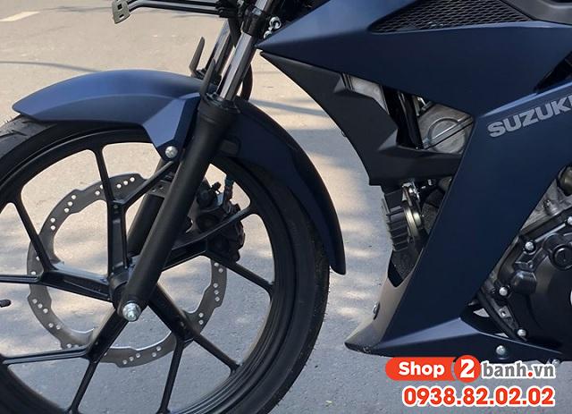 Xe suzuki satria f150 xanh nhám nhập khẩu indo 2020 - 6