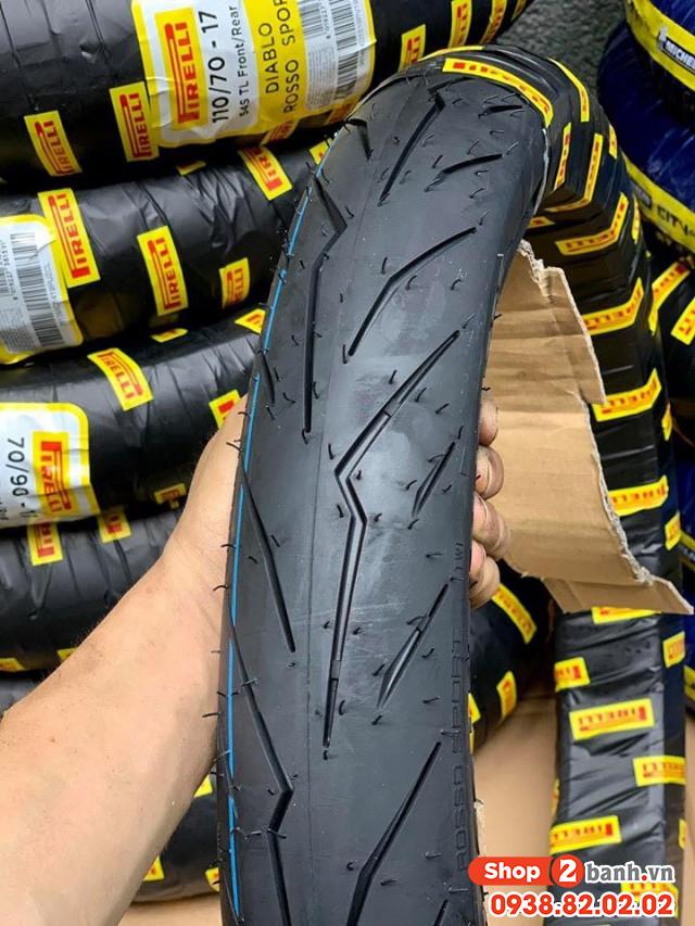Vỏ pirelli 9080-14 diablo rosso sport - 1