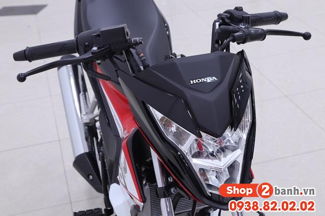 Xe honda sonic 150r 2020 đen đỏ nhập khẩu indo - 4