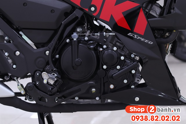 Xe suzuki satria f150 đen mâm đỏ nhập khẩu indo 2020 - 5