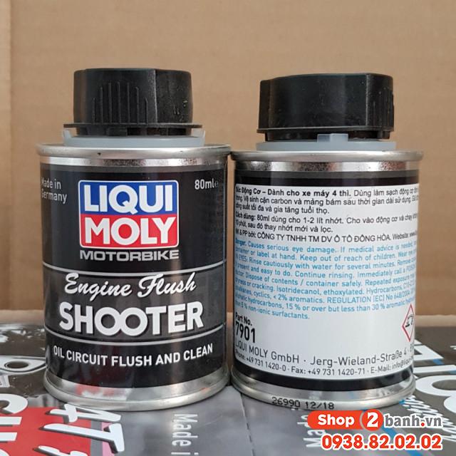 Dầu súc động cơ liqui moly engine flush - 2