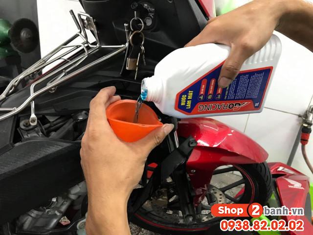 Nước làm mát xe máy bao lâu thì nên thay - 1