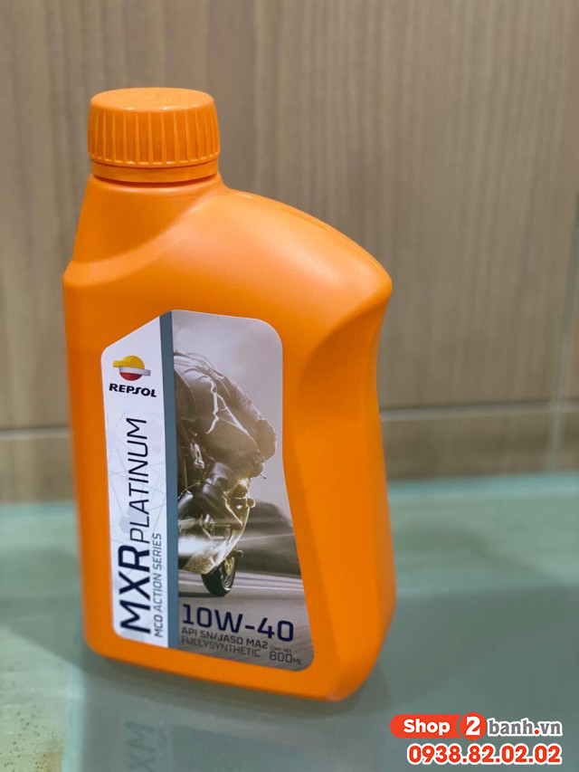 Nhớt repsol mxr platium 10w40 08l - 1