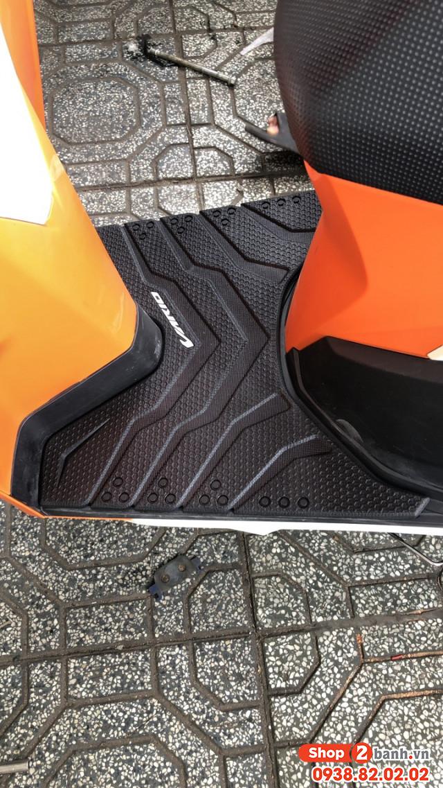 Thảm lót chân cao su cho vario click mẫu mới - 1