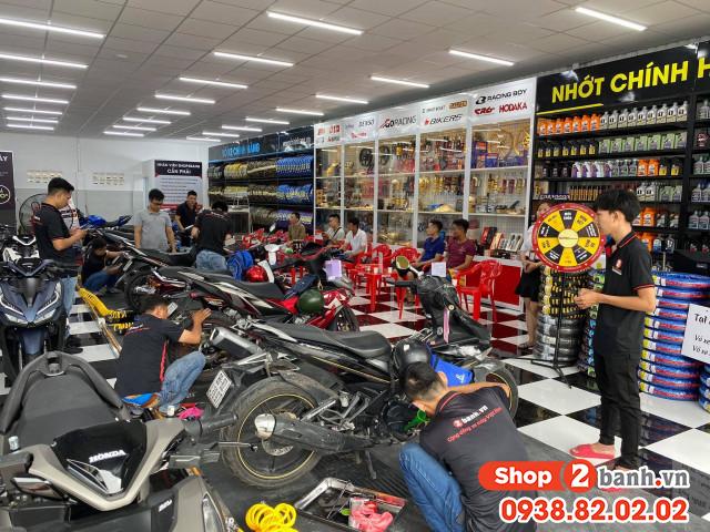 Thay nhớt vỏ xe chính hãng giá rẻ tại shop2banhvn - 4