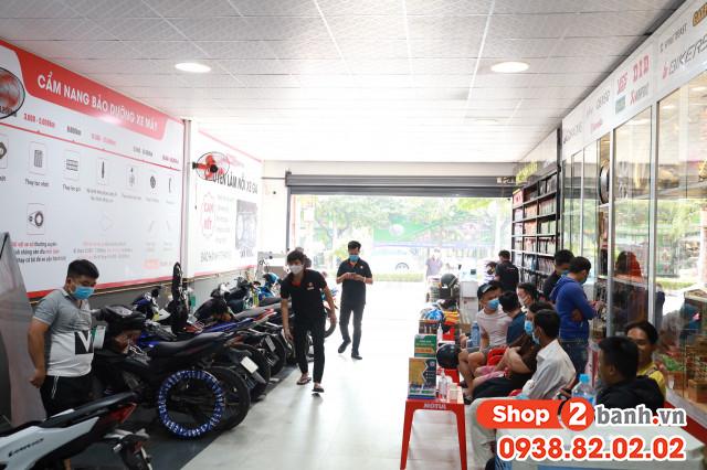 Thay nhớt vỏ xe chính hãng giá rẻ tại shop2banhvn - 3