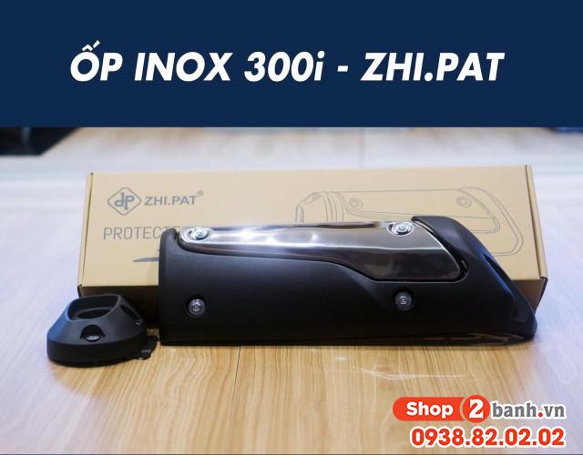 Ốp pô inox 300i zhipat cho shvn 2020 - 1