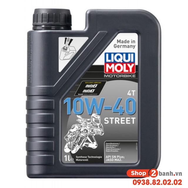 Liqui moly motorbike street 4t 10w40 1lit - 1