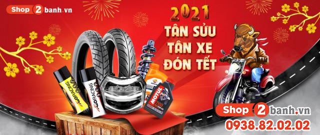 Tân sửu tân xe đón tết 2021 tại shop2banhvn - 1