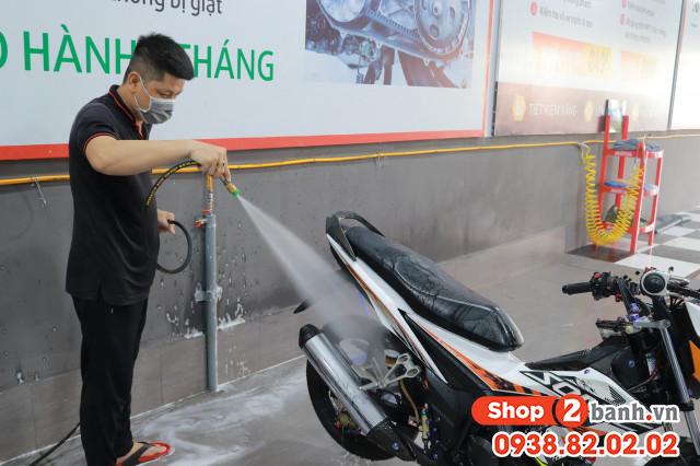 Địa chỉ rửa xe máy siêu sạch ở phan văn hớn bà điểm hóc môn hcm - 1
