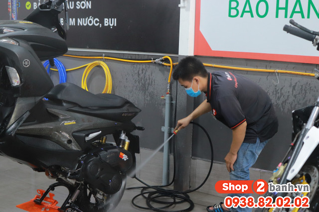 Địa chỉ rửa xe máy siêu sạch ở phan văn hớn bà điểm hóc môn hcm - 3