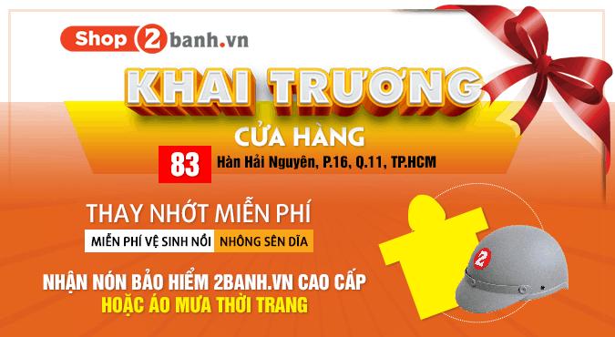Khai truong shop2banh cua hang 2