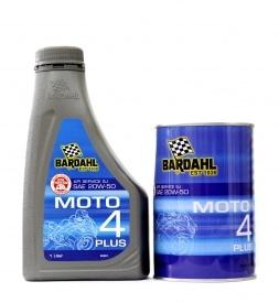 Bardahl Motor MOTO 4 Plus 20W-50 1L