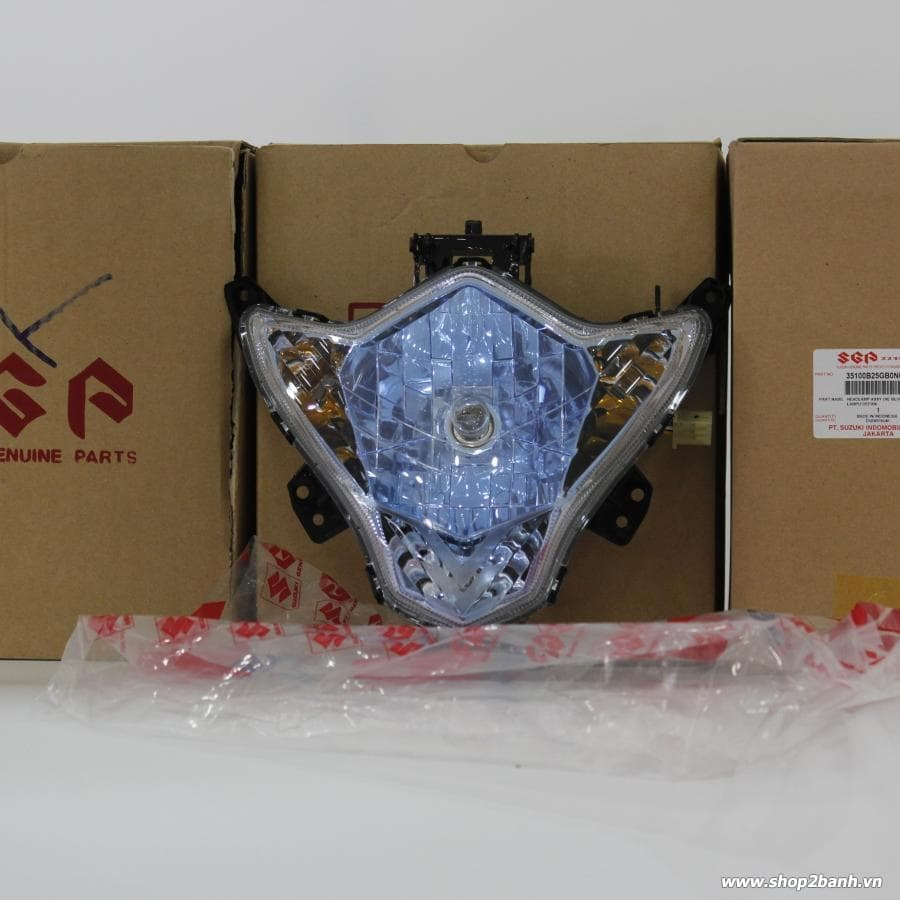Chóa đèn xanh limited SATRIA FU150/ RAIDER 150 2013 (INDO) new 100%