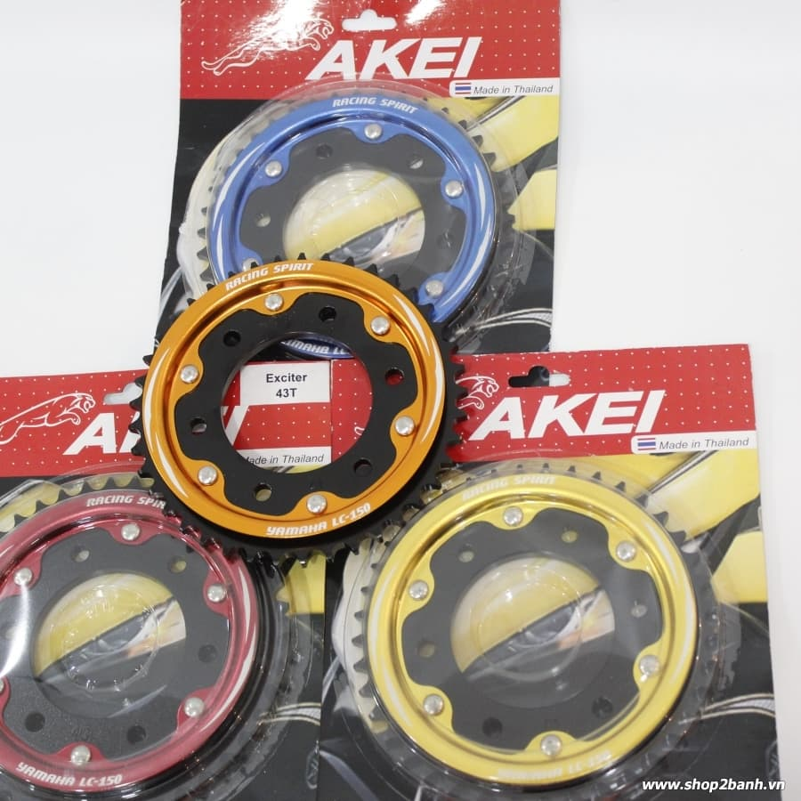 Dĩa tải Akei size 41, 43 YAMAHA Exciter 150