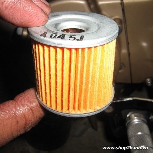 Lọc nhớt chính hãng Suzuki Raider 150/ Satria F 150/ Belang 150/ FX 125/ VIVA 110