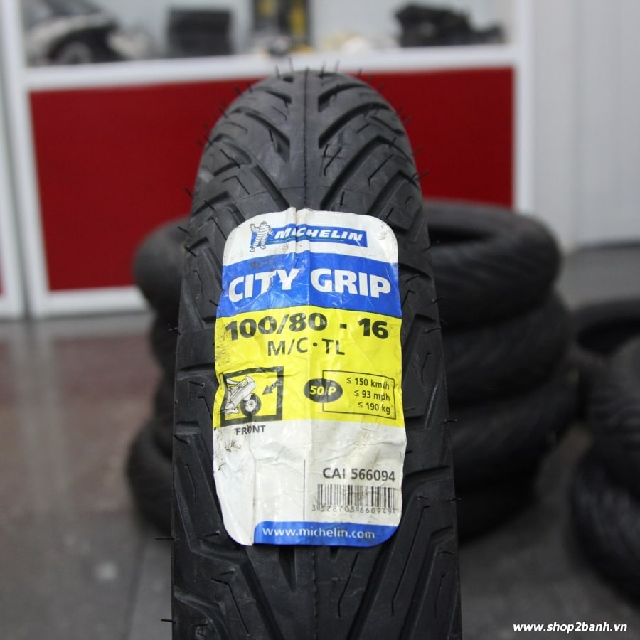 Vỏ Michelin City Grip 100/80-16