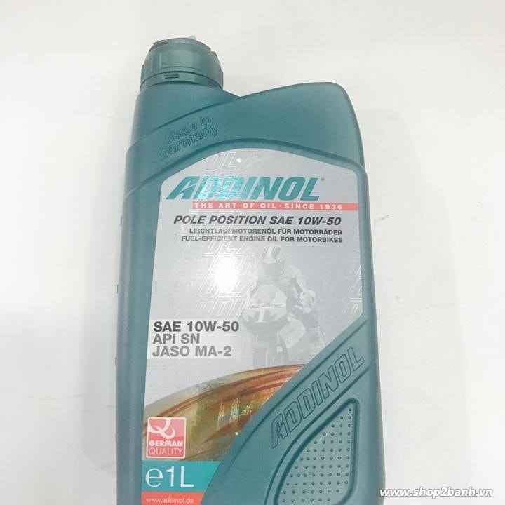 Nhớt Addinol Pole Position 10W50