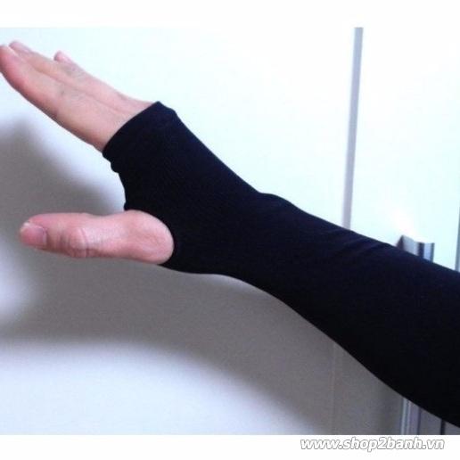 Găng tay chống nắng xỏ ngón Hàn Quốc