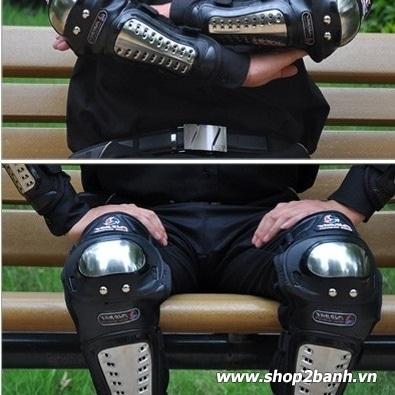 Giáp inox bảo hộ Pro Biker (chính hãng)