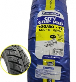 Vỏ Michelin City Grip Pro 100/80-17