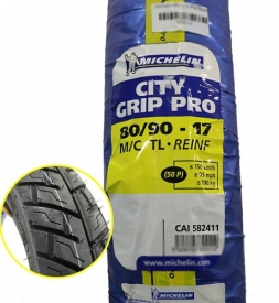 Vỏ Michelin City Grip Pro 80/90-17