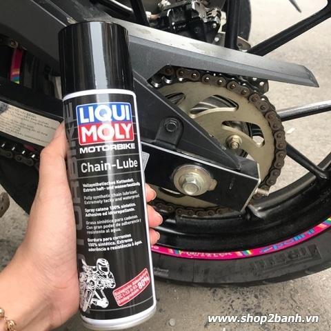 Chai xịt sên Liqui Moly Motorbike Chain - Lube